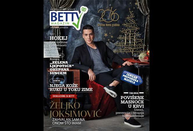 Betty Časopis - Januar 2016